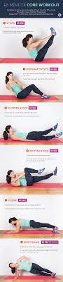 bodyweight core workout upper abs