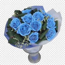 وردة حديقة الورود الزرقاء لغة الحب زهرة باقة زهور تجارية كتيب