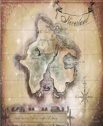 Twin Size Classic Neverland Map Ipad Case Skin By Sophersgreen Redbubble
