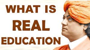 swami vivekananda on real education