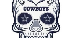 Cowboy Football Wall Decal Stickers Silhouette Vinyl Dallas Design Fathead Vamosrayos