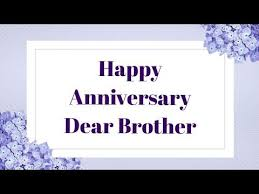 happy wedding anniversary wishes for brother bhaiya
