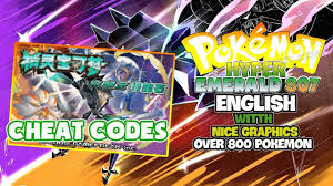 Liked on YouTube: Pokemon Hyper Emerald 807 English Cheat Code for ...