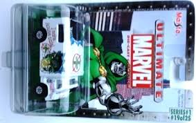 Dr Doom Ambulance 1 64 Diecast Vehicle Card 19 Of 25 Marvel Ultimate Die Cast Collection Series 1 Rare Vintage 2002 Now And Then Collectibles