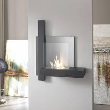 modern nico bioethanol fireplace