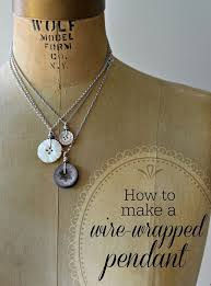 on pendants with vintage style