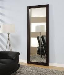 rectangular standing long mirror in