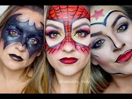 superhero makeup looks for