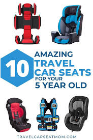 travel car seat for a 5 year old