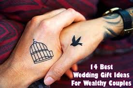 14 best wedding gift ideas for wealthy
