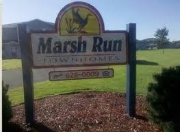 marsh run townhomes apartments