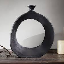 INK+IVY Hayes Peek Small Round Vase