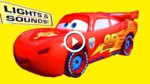 pixar cars lights and sounds lightning mcqueen mattel talking