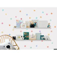 Harriet Bee Watercolor Stars Removable Peel And Stick Wall Decal Wayfair
