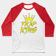trap kingz rap baseball t shirt