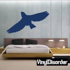 Bluebird Flying Decal Bird Wall Decals Vinyl Wall Decals Car Decals Vinyl