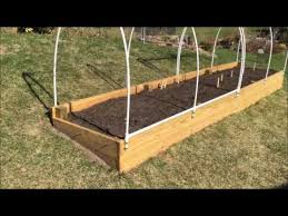 raised garden bed how to make an easy