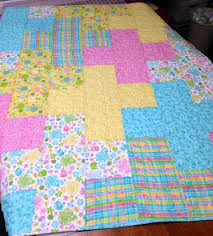 baby crib quilt toddler plus quilt pink