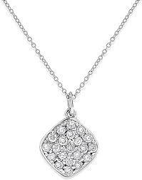 14k white gold diamond pendant kc n13003