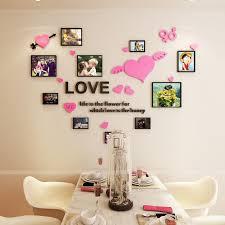Photo Frame Acrylic 3d Wall Sticker Wedding Room Romantic Love Diy Art Wall Decor Living Room Bedroom Decoration Zebra Wall Decals Zebra Wall Stickers From Jasm 13 22 Dhgate Com