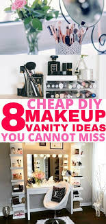 8 easy diy makeup vanity ideas you