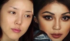 korean makeup artist transforms into