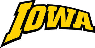 Iowa Hawkeyes Vinyl Sticker Decal Many Sizes Cornhole Truck Carbumper Wall Iowa Hawkeyes Word Mark Logo Hawkeyes