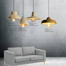 gl concrete pendant light pc321 pc322