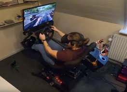 vr motion simulator is powered by arduino