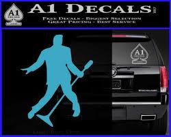 Elvis Decal Sticker Microphone A1 Decals