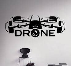 New Arrival Air Drone Wall Vinyl Decal Quadcopter Wall Sticker Aircraft Home Wall Art Decor Interior Removable Kids Room Kids Room Wall Vinylwall Sticker Aliexpress