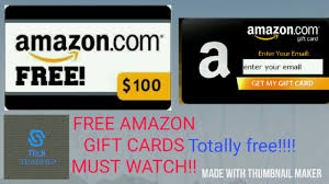 get free amazon gift cards in india