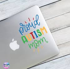Autism Awareness Decal Love Autism Sticker Puzzle Piece Vinyl Etsy