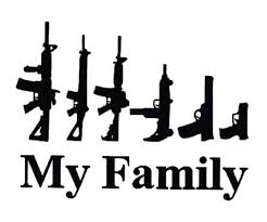 My Family In Guns Rights Vinyl Decal Window Sticker Truck Car Graphics Toolbox Safe Kids Room Wall D Funny Vinyl Decals Car Decals Stickers Bumper Stickers
