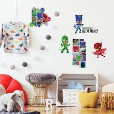 Pj Masks Peel And Stick Wall Decals Roommates Decor