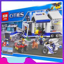 Nhanh Tay Bộ Lego Xếp Hình Ninjago Container Cảnh Sát. Có 404 Chi ...