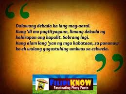 bob ong quotes inspiring words to live by filipiknow