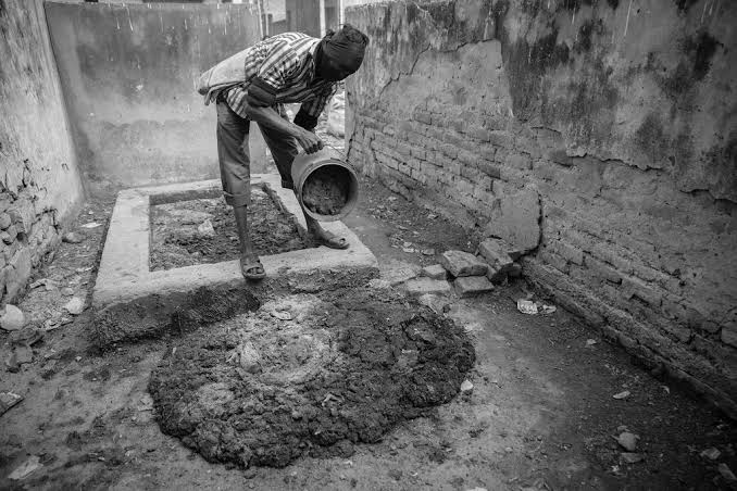 Image result for manual scavenging india""