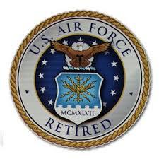 Retired Air Force Car Decal Air Force Mom Air Force Usaf Mom