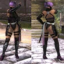 custom cheap dead or alive doa ayane ninja full cosplay costume in