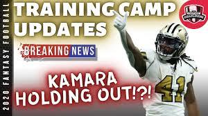 Alvin Kamara Holdout ...