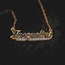 custom script necklace script