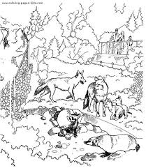 Animal Coloring Pages For Adults Animals Coloring Pages And