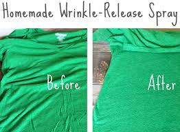 homemade wrinkle release spray diy
