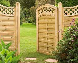 wooden garden gates design for android