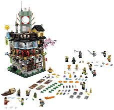 KING 89049(06066) Ninjago City Masters of Spinjitzu Building ...