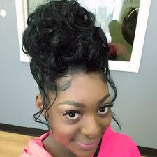 Prom hair | Black hair updo hairstyles, Black girl updo hairstyles, Kids  hairstyles