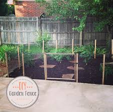 Diy How To Make A Garden Fence Oh Everything Handmade Llc Fenced Vegetable Garden Diy Garden Fence Small Garden Fence
