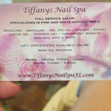 tiffany s nail spa nail salon in