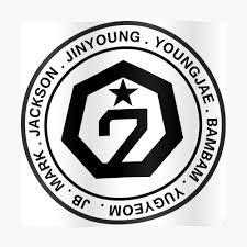 Member Name Got7 Sticker By Dexta Redbubble